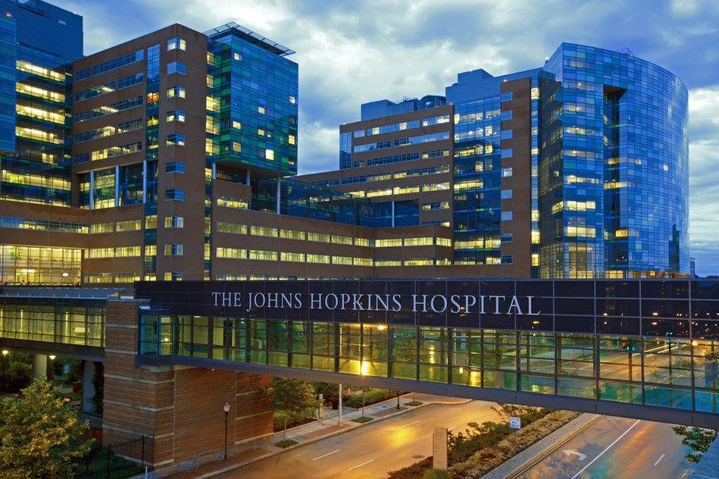 Johns Hopkins Hospital Named #4 in the World